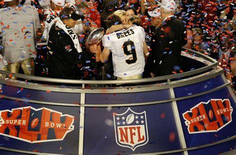 New Orleans Saints Super Bowl Xliv Win Ranked 17th Best