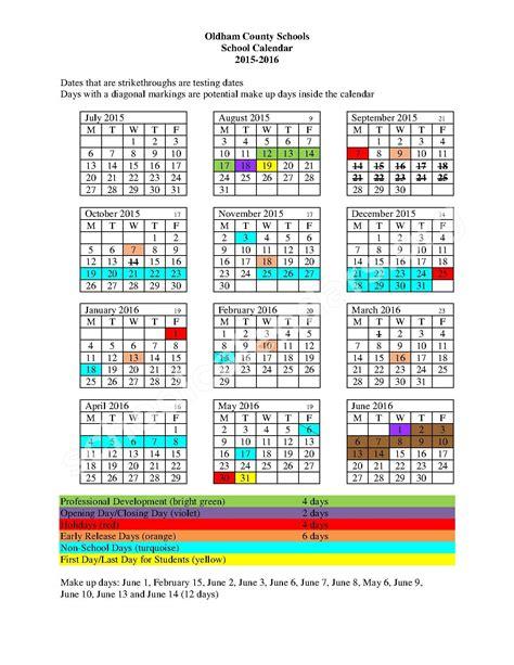 school calendar south oldham high school crestwood ky