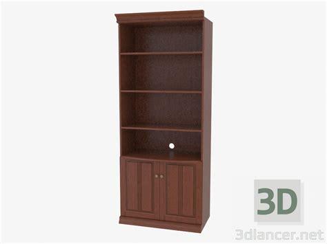 log kitchen cabinets 3d model bookcase with open shelves 3841 11 manufacturer 3841