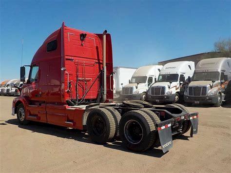 volvo big 2013 volvo vnl64t670 sleeper semi truck for sale 388 620