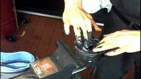 cv joint dismantle clean grease   diy bmtroubleu