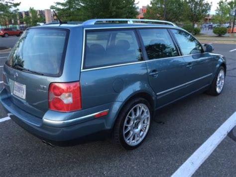 2004 Volkswagen Passat W8 4motion Variant 6-speed With