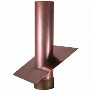 Copper Vent Stack And Flashing - Vent Stack