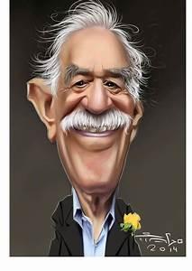caricaturas: Gabriel García Márquez. | García Márquez ...