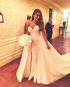 sofia vergara 15 best celebrity wedding dresses as worn With sofia vergara wedding dress