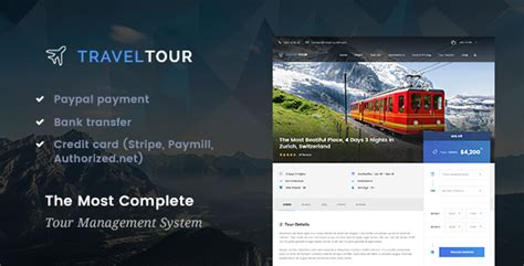 Travel & Tour Management System Wordpress