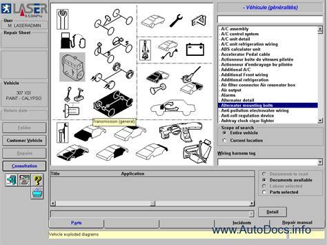 Peugeot Parts by Peugeot Parts And Repair 2006 Parts Catalog Repair Manual