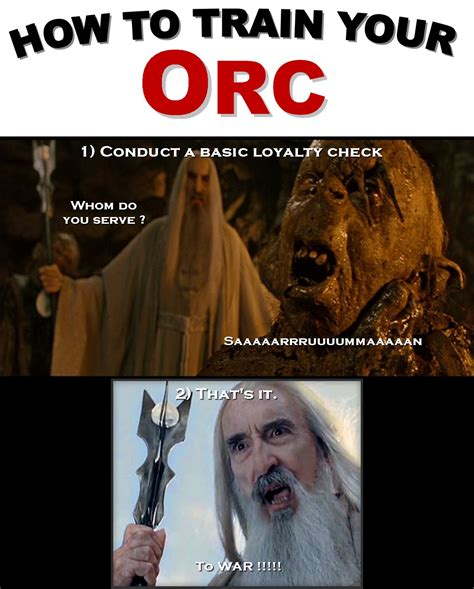 Orc Meme - physicists of the caribbean how lord of the rings can help solve china s population crisis