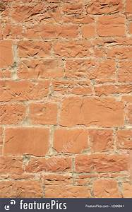 Photo Of Red Sandstone Wall