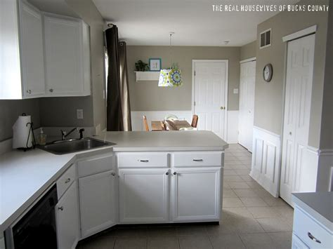 White Cabinet Reveal! {kitchen Update}  East Coast