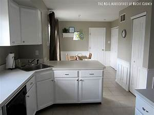how to paint cabinets white east coast creative blog With kitchen cabinets lowes with my first sticker book
