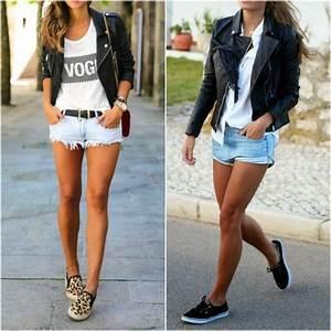 10 maneiras de usar shorts jeans com tu00eanis - e errasar!