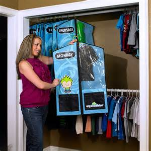 Monday through Friday Clothes Organizer