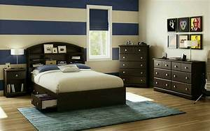 Male Bedroom Young Adult Transitional Small Gallery