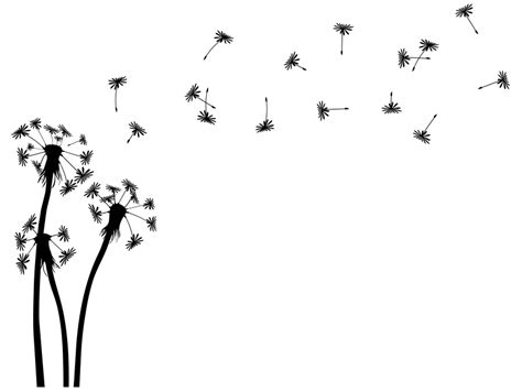 wandtattoo pusteblumen landschaft als wandtattoo pusteblume