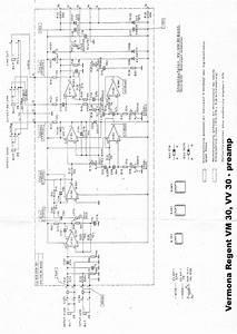 Vermona Regent Vm 30 60 Guitar Combo 1989 Sm Service