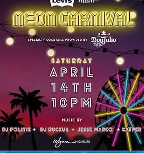 Neon Carnival Archives LA Guestlist