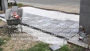 Pflastersteine Selber Machen : betonstein pflastersteine selber machen und verlegen diy youtube ~ Yasmunasinghe.com Haus und Dekorationen
