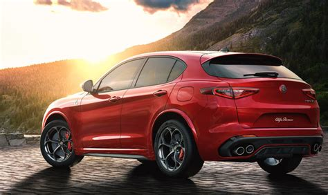 2018 Alfa Romeo Stelvio Suv Lineup At 2017 New York