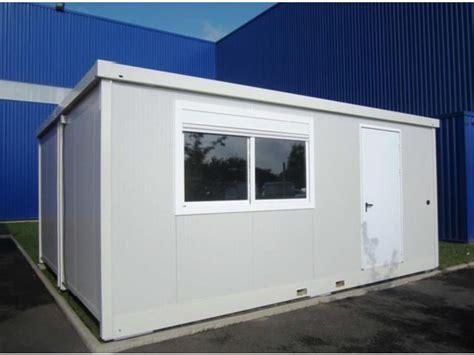 bureau modulaire interieur bungalow bureau de chantier connectables contact