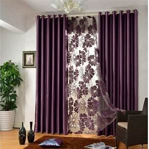 Elegant Contemporary bedroom curtains in Solid Color for