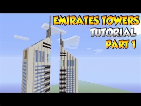 Minecraft Famous Buildings Tutorial Youtube