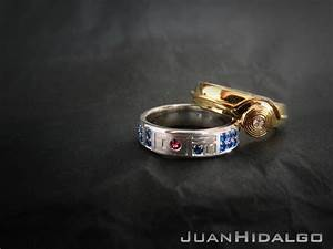 STAR WARS Inspired R2 D2 And C 3PO Wedding Rings GeekTyrant