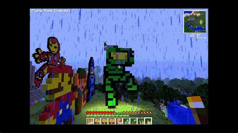 Pixel Art Halo Minecraft Youtube