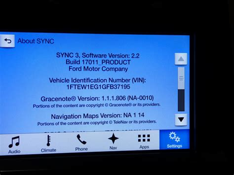 ford sync 3 kartenupdate f7 ford sync 3 update ford f150 forum community of ford truck fans