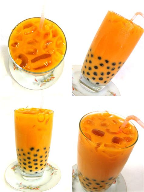thai iced tea  boba   cookingdom