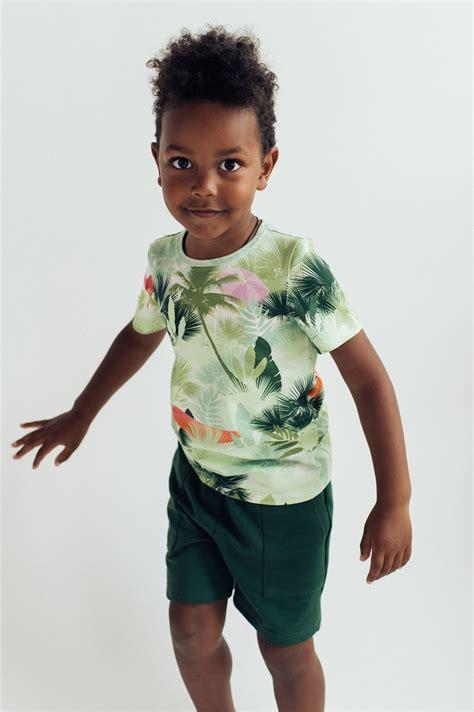 Siltie šorti tumši zaļi, zēnu - ZĒNI | HEBE