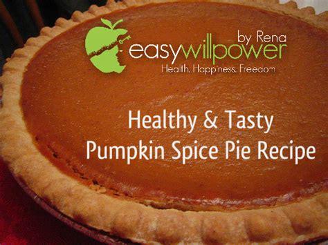 substitute for pumpkin pie spice healthy pumpkin spice pie recipe easy willpower