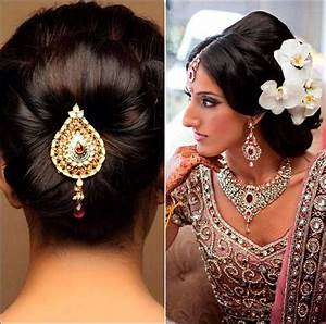Indian Wedding Hairstyles For Medium Length Hair To Adorn