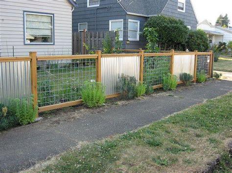 cheap fence ideas  embellish  garden   home