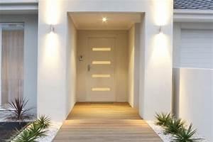 menuiseries bois pvc et alu qualite des produits et With porte d entrée pvc en utilisant porte extérieure coulissante