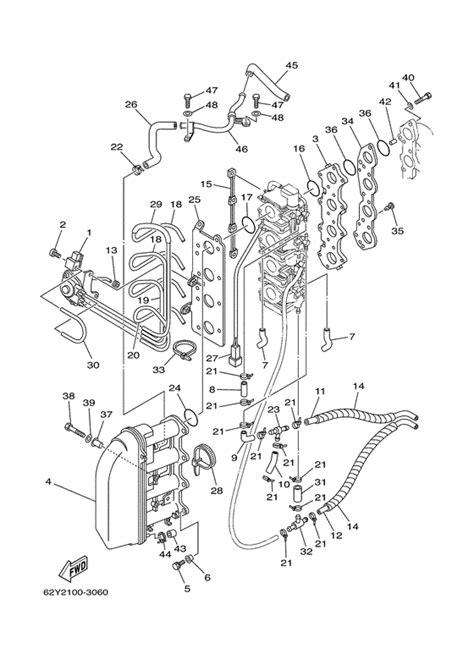 Yamaha F50 Parts Diagram