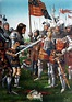 Surrender of King John II of France to Edward the Black ...