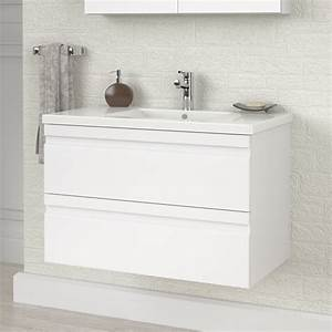meuble sous vasque lave main wasuk With salle de bain design avec meuble vasque lave main