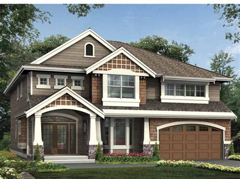 2 craftsman house plans two craftsman style