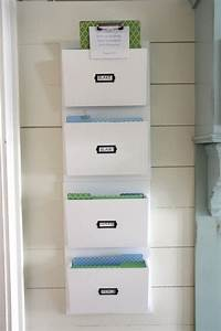 best 25 wall file organizer ideas on pinterest mail With document organization ideas