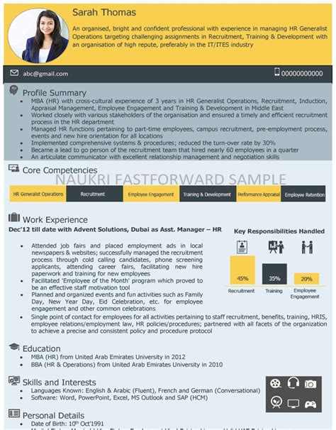 visual cv builder ideas real cv exles u0026 resume