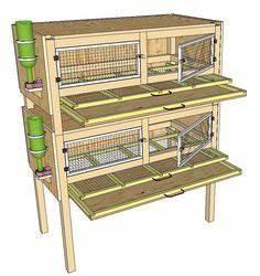 1000 idees sur le theme cage pour lapin sur pinterest With plan maison de campagne 14 construction de cages delevage des cailles plan