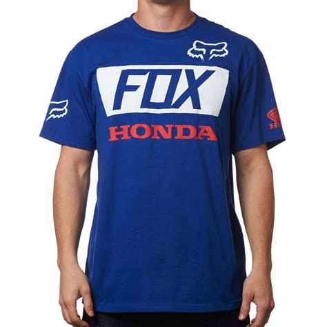 fox motocross t shirts new fox racing mx official honda t shirt mens motocross