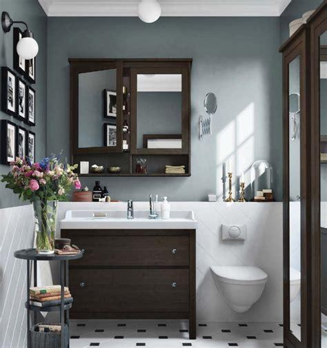 salle de bain bois ikea