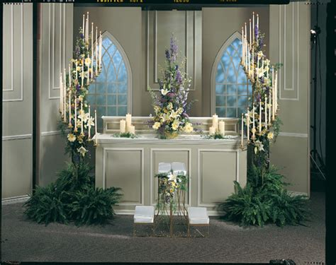 Floor-standing Wedding Candelabra