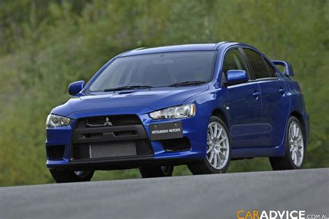 2008 Mitsubishi Lancer Evolution X by 2008 Mitsubishi Lancer Evolution X Official Details