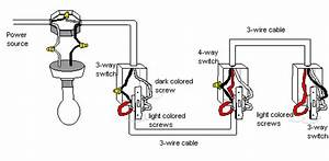 How Wire Multiple Lights 4 Way Switch - Electrical