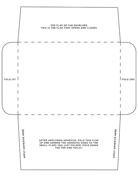 Template For Printing Envelopes by Free Template For Envelope Printing