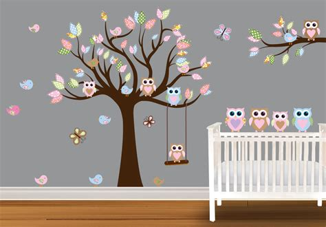 chambre bébé simple baby owl nursery