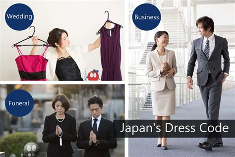 dress code  japan  guide   japanese